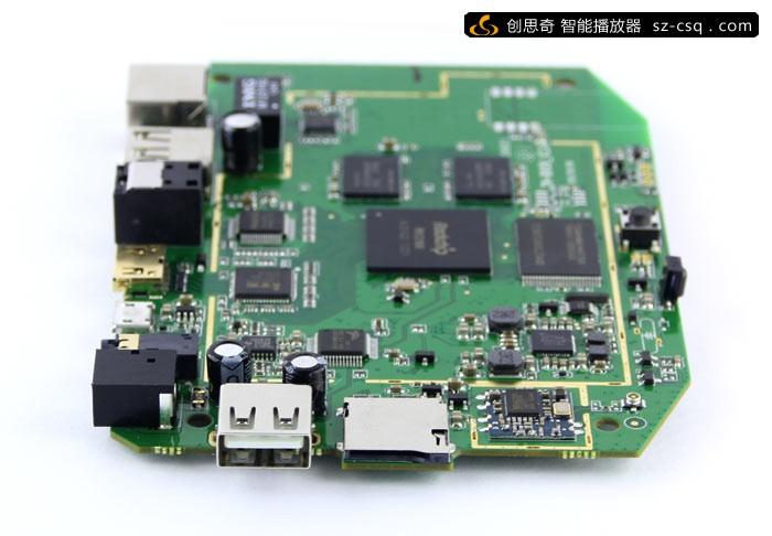 [拆机]创思奇cs918四核rk3188智能高清机顶盒拆机图