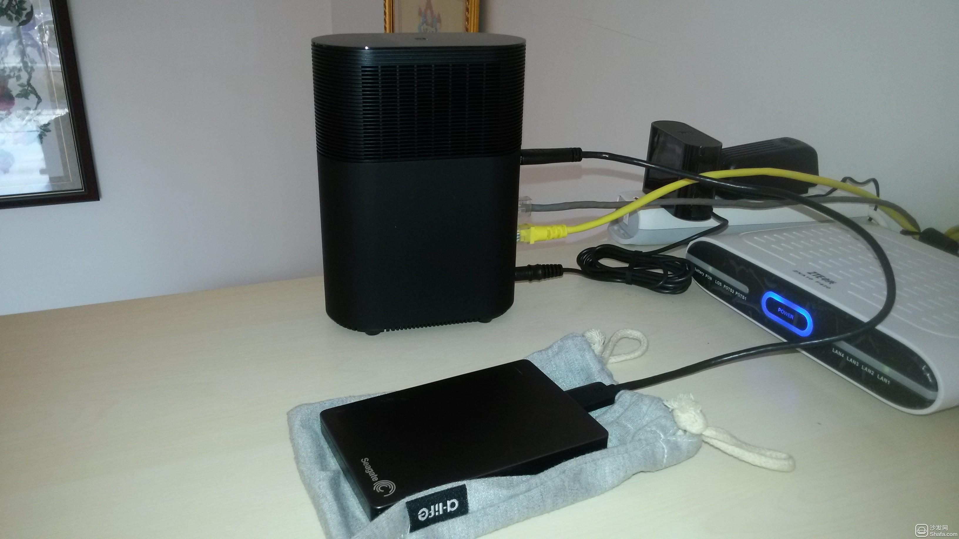 小米路由器连接移动硬盘实现家庭共享